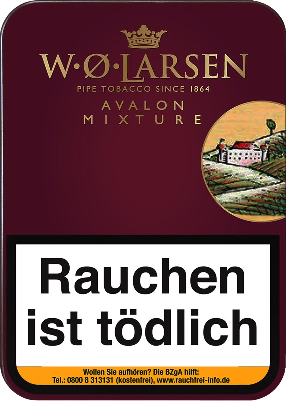 Pfeifentabak W.O. Larsen Avalon Mixture