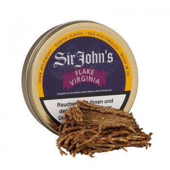 Pfeifentabak J. A. Sir John's Flake Virginia