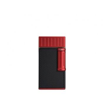 Zigarrenfeuerzeug Colibri Julius schwarz-rot