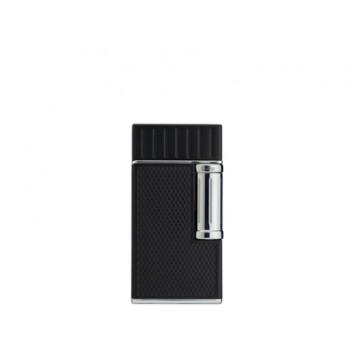 Cigarrenfeuerzeug Colibri Julius schwarz-chrom
