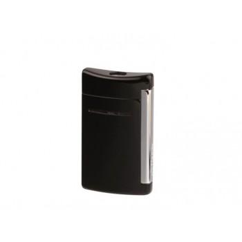 Zigarrenfeuerzeug Dupont Minijet schwarz glänzend