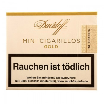 Zigarillo Davidoff Mini Gold