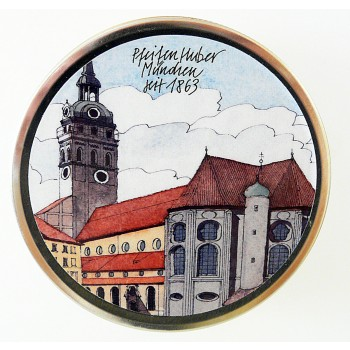 "Huber Pfeifentabak Umfülldose ""Alter Peter"" für 50 gr."