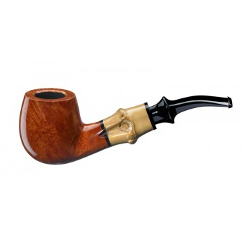 Pfeife Tsuge Bamboo Smooth Half Bent