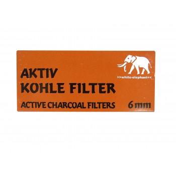 Aktivkohlefilter 6 mm