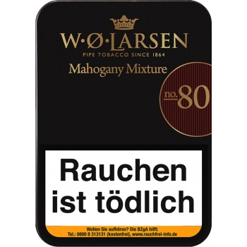 Pfeifentabak W.O. Larsen Mahogany Mixture N° 80