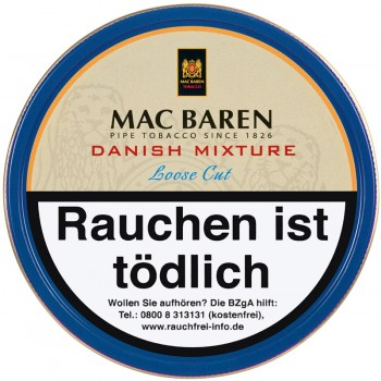 Pfeifentabak Mac Baren Danish Mixture