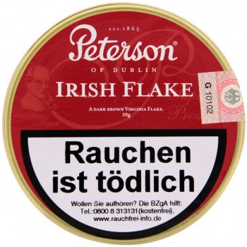 Pfeifentabak Peterson Irish Flake