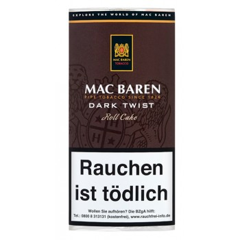 Pfeifentabak Mac Baren Dark Twist