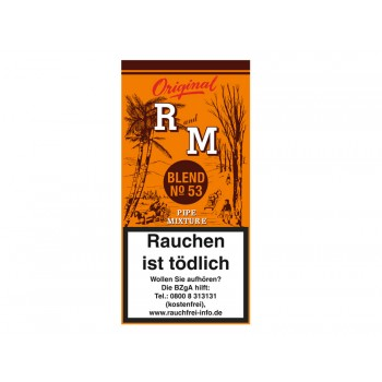 Pfeifentabak R and M (früher Rum and Maple)