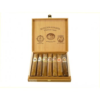 Zigarrensampler Seleccion Robusto 7 Premium Cigars