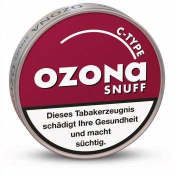 Schnupftabak Ozona C-Type Snuff