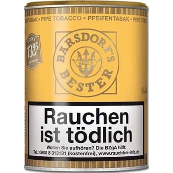 Pfeifentabak Käpt'n Barsdorf Bester Gold 160 Gramm