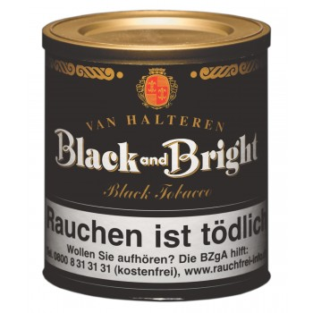 Pfeifentabak Van Halteren Black and Bright