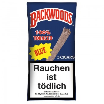 Cigarren Backwoods Blue