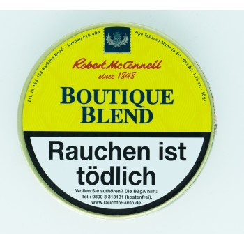 Pfeifentabak Robert McConnell Boutique Blend (angelehnt an Dunhill Early Morning)