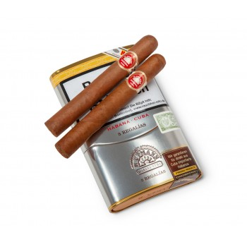 Zigarren H. Upmann Regalias 5er Vintage Blech Etui