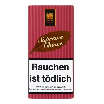 Pfeifentabak Mac Baren Supreme Choice