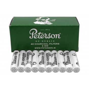 Aktivkohlefilter Peterson 9mm 40 Stk.