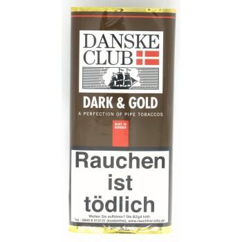 Pfeifentabak Danske Club Dark & Gold
