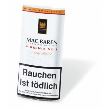 Pfeifentabak Mac Baren Virginia No. 1