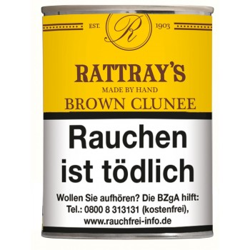 Pfeifentabak Rattrays Brown Clunee