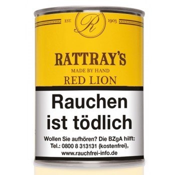 Pfeifentabak Rattrays Red Lion