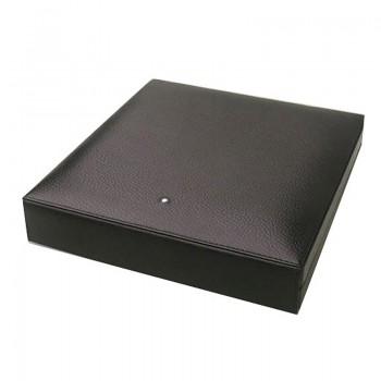 Humidor Dunhill Leder schwarz