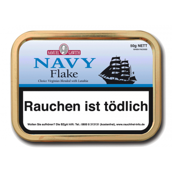 Pfeifentabak Samuel Gawith Navy Flake