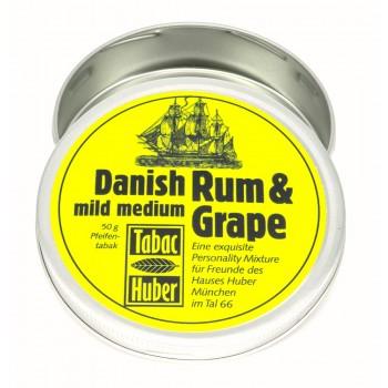 """Huber Pfeifentabak Umfülldose """"Vintage Rum & Grape"""" für 50gr."""