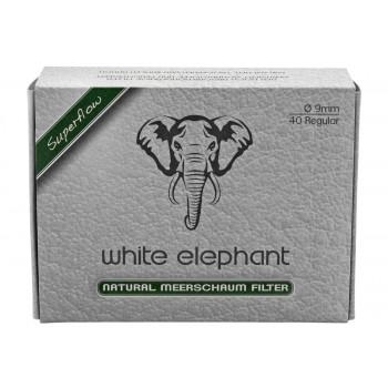 Meerschaumfilter White Elephant 9mm 40 Stk.