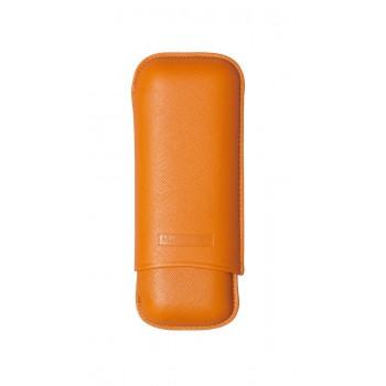 Zigarrenetui Martin Wess 2er Robusto orange