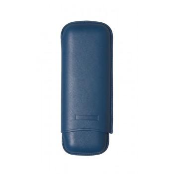 Zigarrenetui Martin Wess 2er Toro blau
