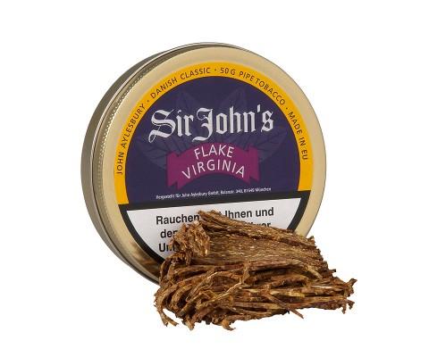 Pfeifentabak John Aylesbury Sir John's Flake Virginia