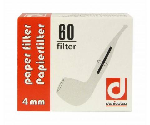Denicotea Papier-Filter, 4 mm