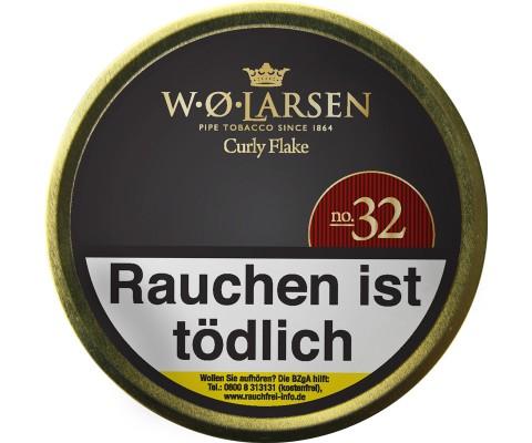 Pfeifentabak W.O. Larsen Curly Flake N° 32