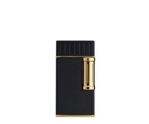 Zigarrenfeuerzeug Colibri Julius, schwarz-gold