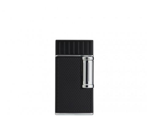 Zigarrenfeuerzeug Colibri Julius schwarz-chrom