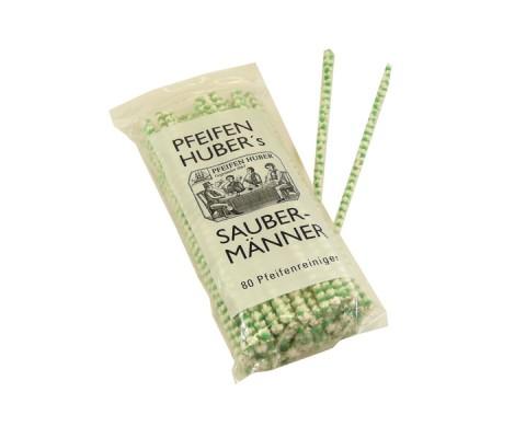 Pfeifenreiniger Huber's Saubermänner grün-weiß