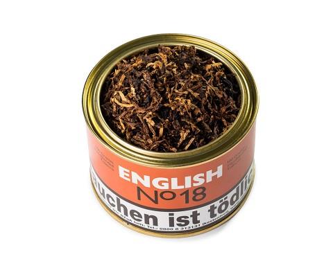 Pfeifentabak English N° 18