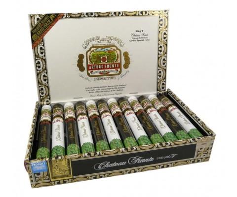 Zigarren Arturo Fuente Chateau King T Tubos