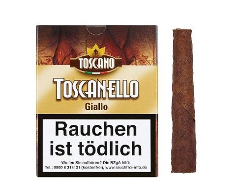 Zigarillos Toscano Toscanello Giallo