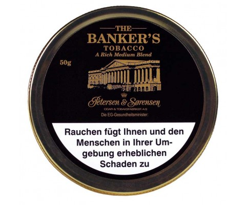 Pfeifentabak Petersen & Sorensen The Banker's Tobacco
