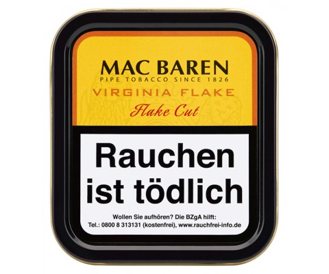 Pfeifentabak Mac Baren Virginia Flake
