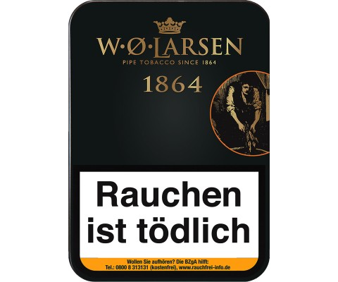 Pfeifentabak W.O. Larsen 1864
