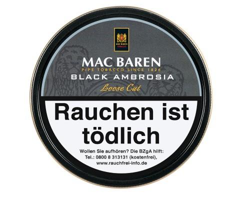 Pfeifentabak Mac Baren Black Ambrosia