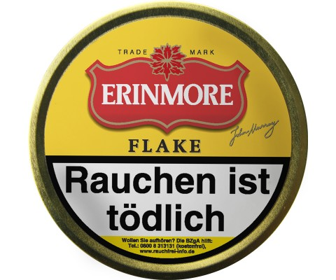Pfeifentabak Erinmore Flake