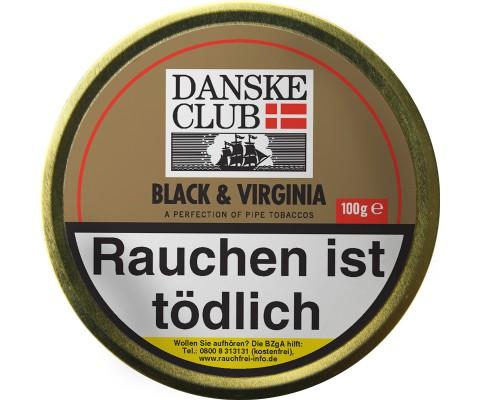 Pfeifentabak Danske Club Black & Virginia