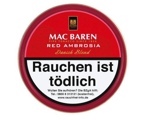 Pfeifentabak Mac Baren Red Ambrosia Mixture