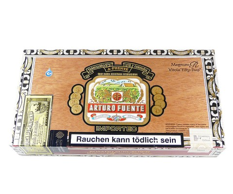 Zigarren Arturo Fuente Rosado Sungrown Magnum R Fifty-Two Robusto